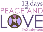 PAXbaby Peace and Love