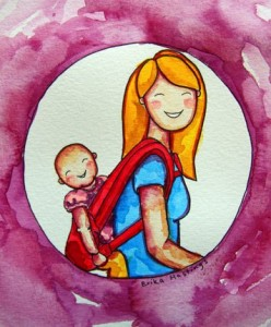 erika-hastings-baby-carrier-watercolor