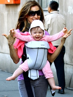 PAXbaby ergonomic baby carrier