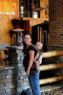 PAXbaby Boba baby carrier