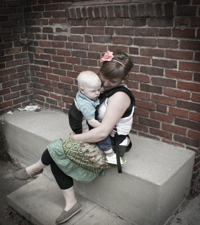 PAXbaby Beco Babywearing custom edition