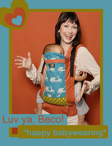 PAXbaby Beco Butterfly II Sling Exchange