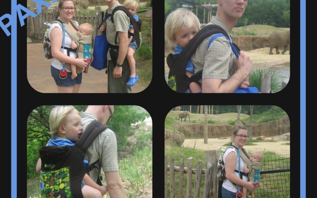 Babywearing at the Zoo