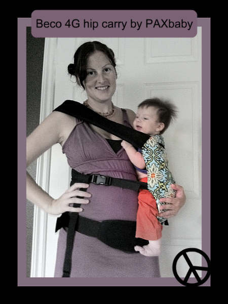 Beco PAXbaby hip carry