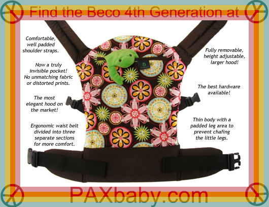 PAXbaby Beco 4th Generation Carnival