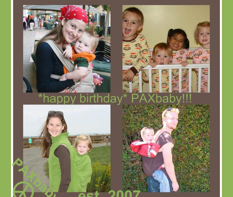 Happy Birthday, PAXbaby!!!