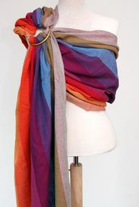 PAXbaby Earthy Rainbow Ring Sling