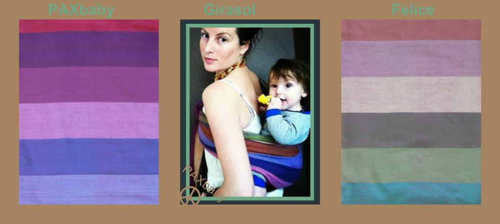Girasol Felice – natural stripes