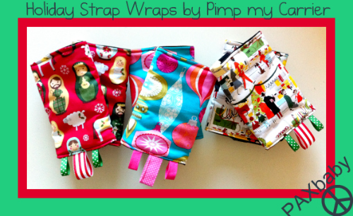 Next up, Holiday Strap Wraps!
