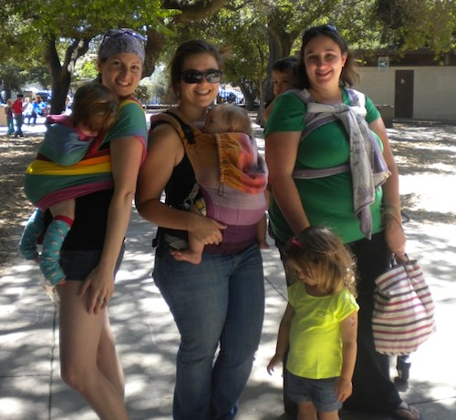 PAXbaby san mateo francisco babywearing playdate group meeting baby carriers