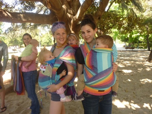 PAXbaby babywearing rainbows baby carrier san francisco bay area group