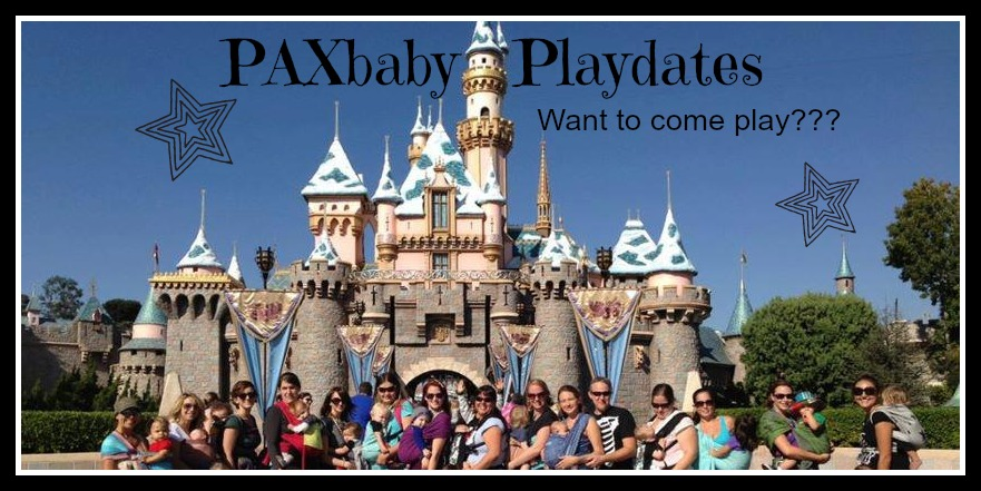 PAXbaby Playdates goes to DISNEYLAND