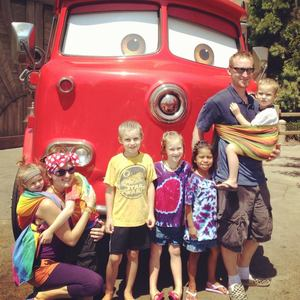 Disneyland and Babywearing…