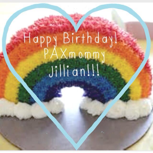 Happy birthday PAXmommy Jillian!!