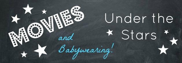MOVIES and Babywearing…