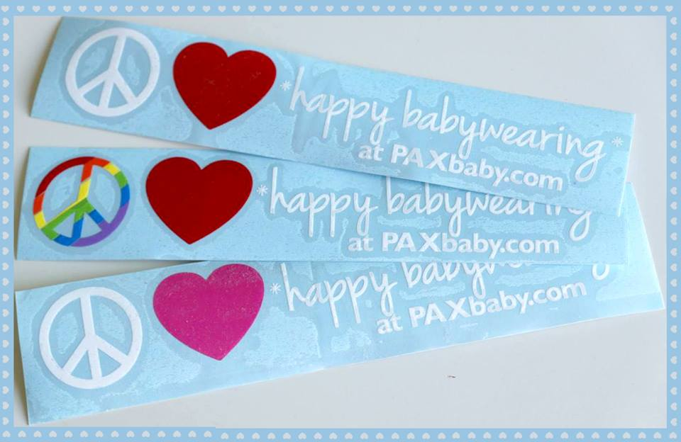 Do you have your babywearing sticker yet??