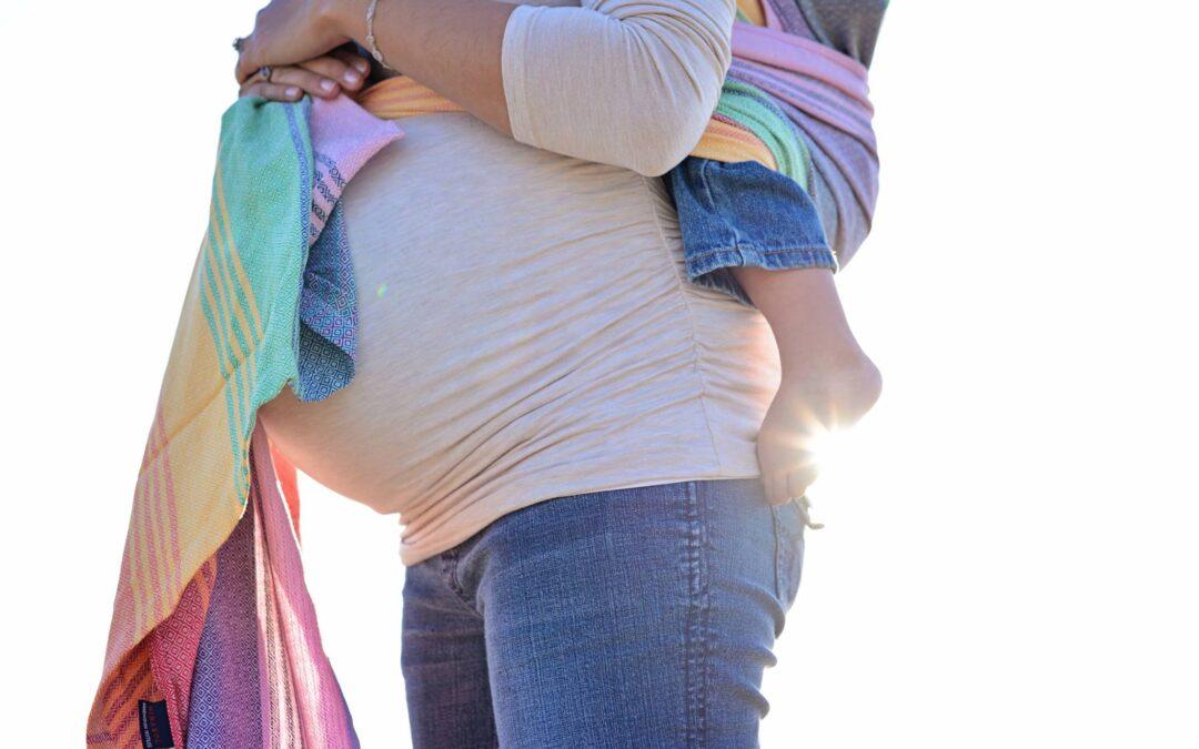PAXmommy Christina on Pregnant Babywearing