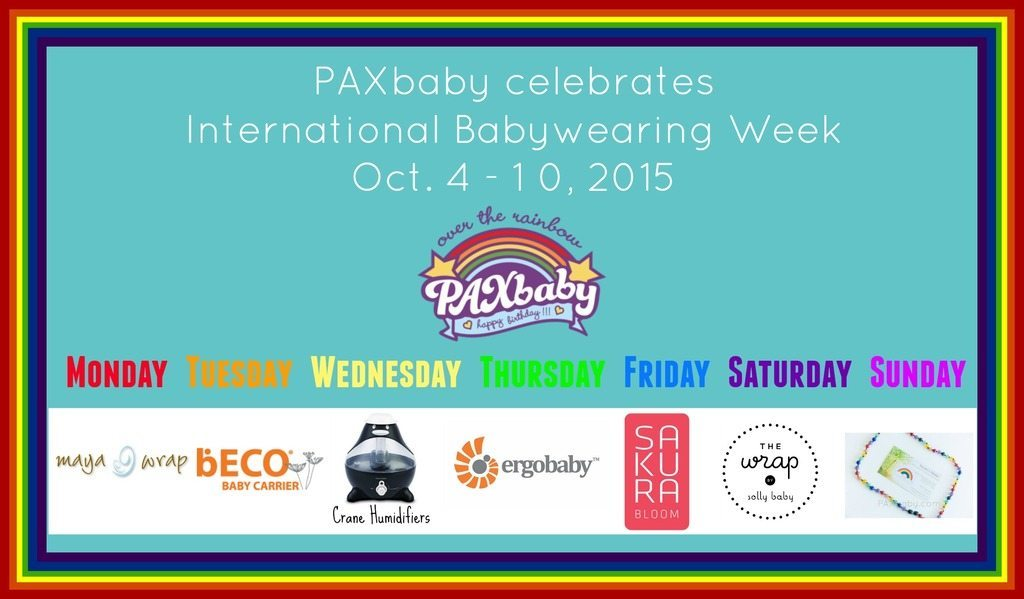 International Babywearing Week 2015 Oct 4-10