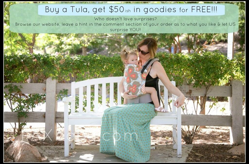 Buy a Tula, get a surprise!