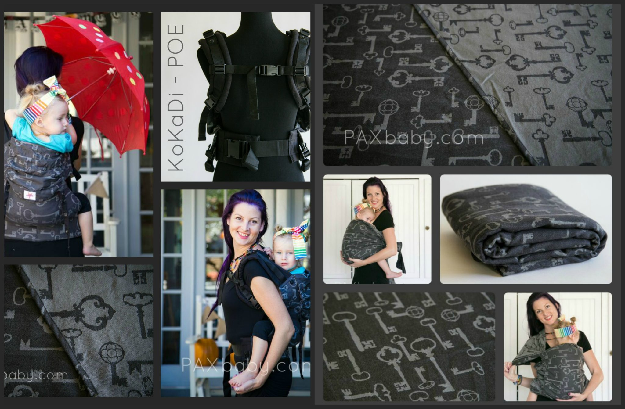 PAXbaby_Kokadi_KKD_Poe_KKDflip_wrap_woven wrap_babywearing_keys_collage