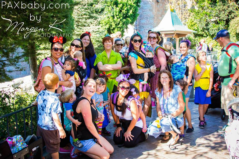 PAXbaby and Disneyland babywearing!
