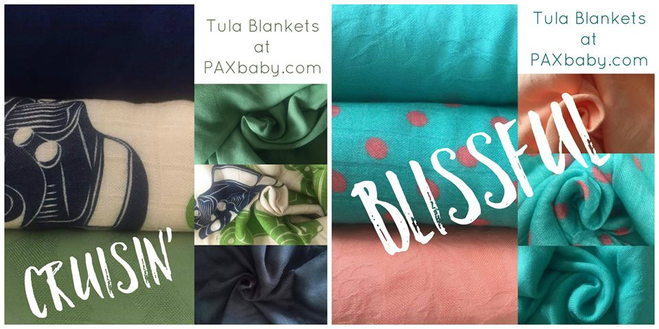 TULA Blankets are at PAXbaby.com