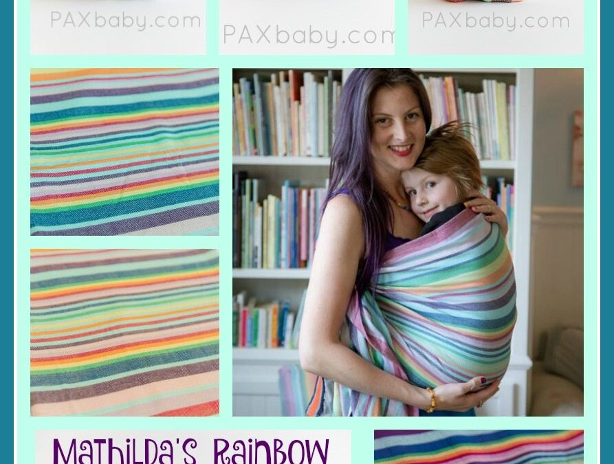 Mathilda's Rainbow at PAXbaby.com