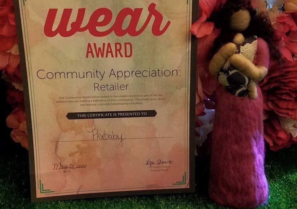 WEAR Award!!!