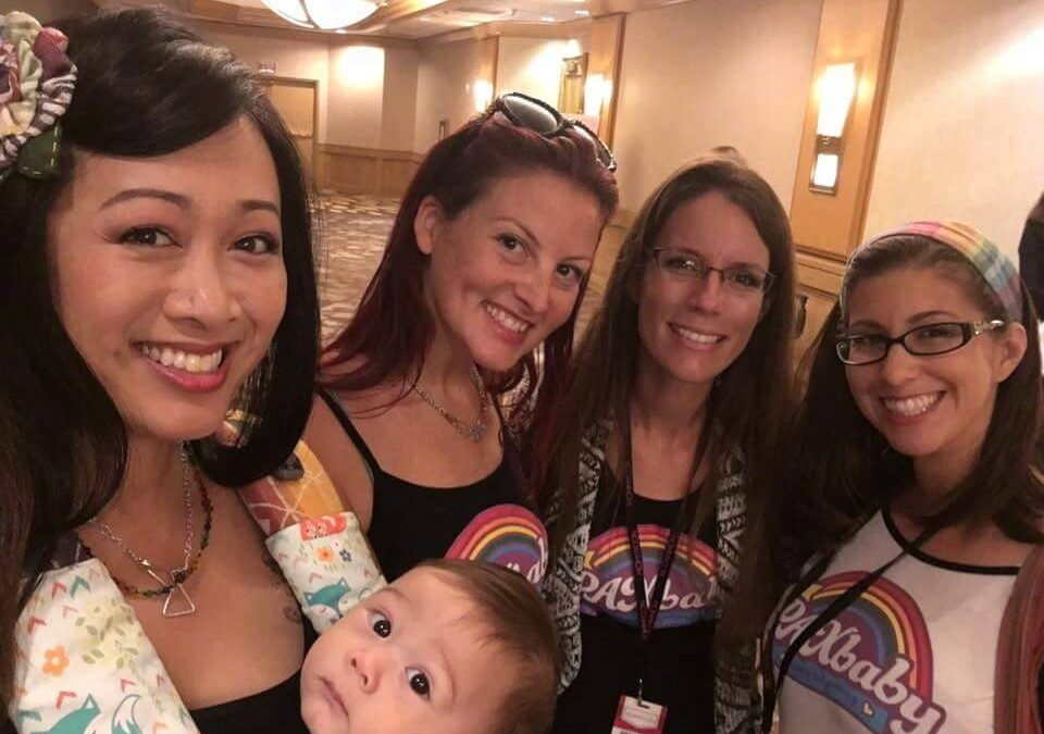 PAXbaby at MommyCon