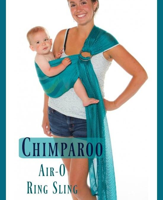 Chimparoo Ring Sling Air-O at PAXbaby.com