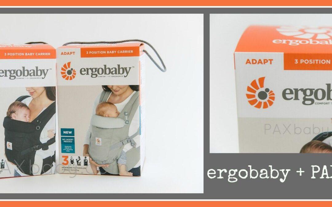 ErgoBaby #PAXbirthday