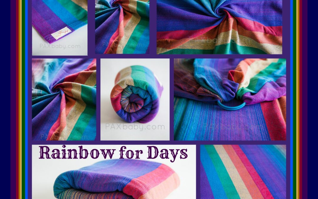 Rainbows for Days at PAXbaby.com
