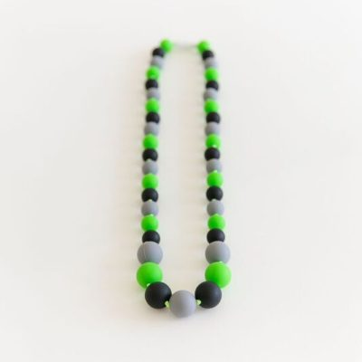PAXbaby_Exclusive_Andys_Room_army_men_GreenGreyBlack_silicone_teething_necklace__92856