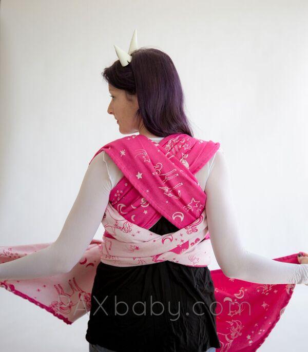 Paxbaby Natibaby Exclusive My Little Unicorn Baby Woven Wrap