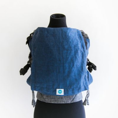 PAXbaby_Soul_LINEN_Full_Buckle_Carrier_cerulean_on_chambray_soft_structured_carrier_SSC_baby_carrier_babywearing__39695