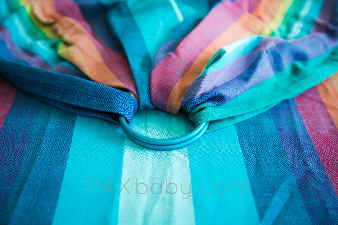 6c70fc90b14 PAXbaby-SBP Ready Made wrap conversion ring sling Girasol EXCLUSIVE ...