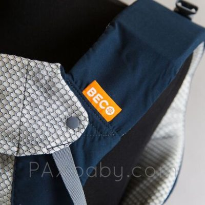 PAXbaby Beco Gemini Cool Navy SSC soft structured carrier baby carrier babywearing 4