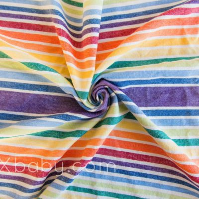 PAXbaby Exclusive Girasol Just one More Rainbow woven wrap baby carrier babywearing 4