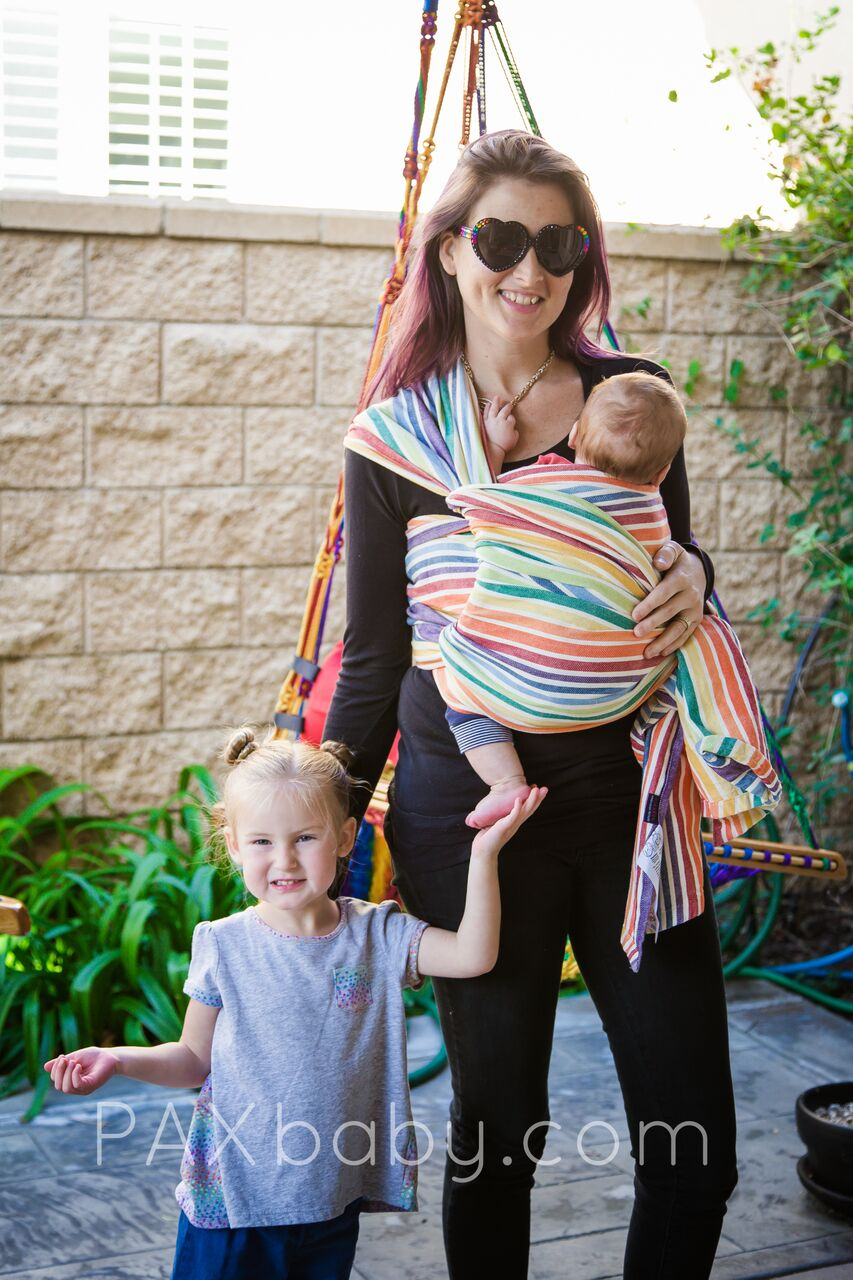 Paxbaby Girasol Paxexclusive Just One More Rainbow Cream Twill