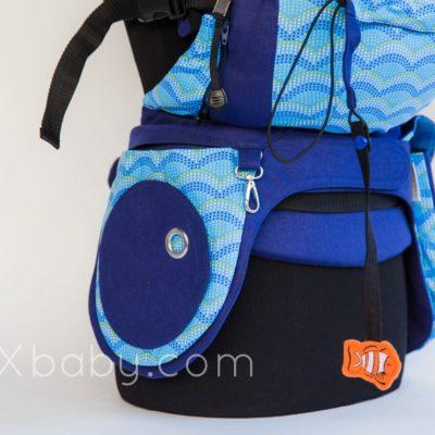 PAXbaby PAXexclusive Liliputi Just Keep Swimming Pocket Belt babywearing 2