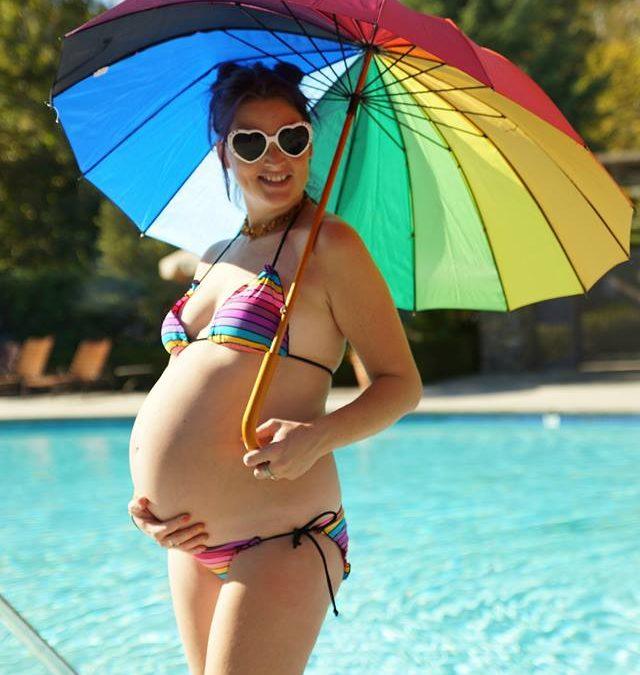 PAXmommy Jillian & the Rainbow Bikini
