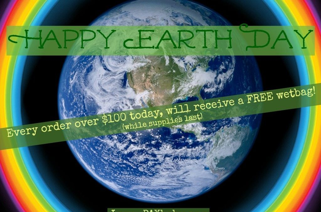 Happy EARTH DAY from PAXbaby.com!