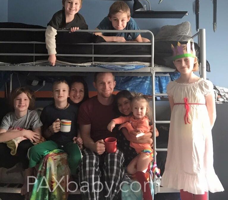 PAXfamily December tradition….