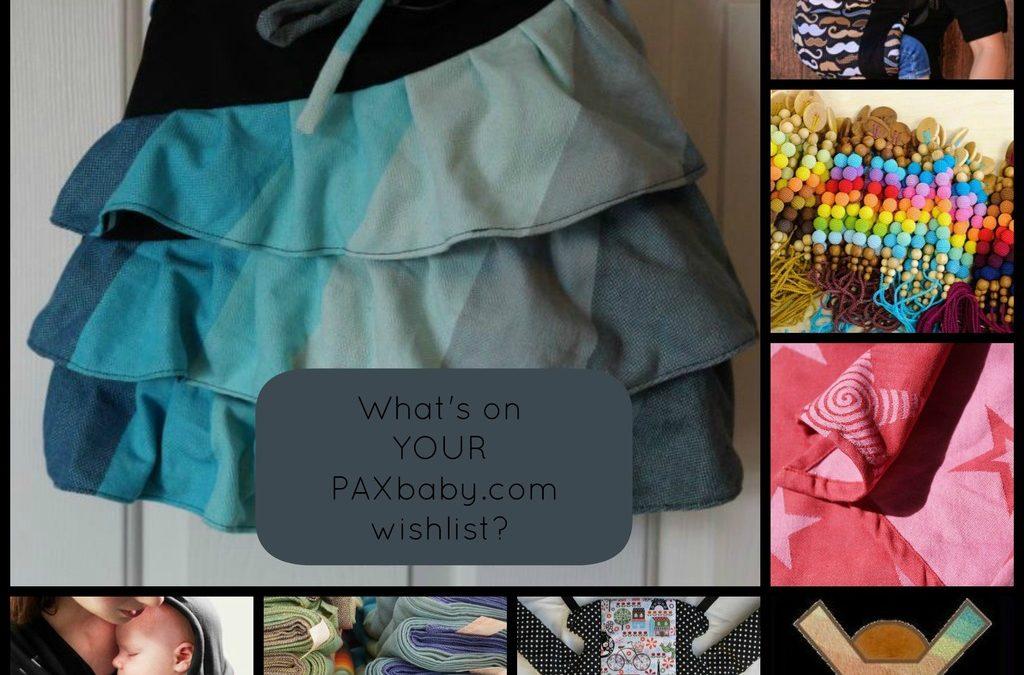 PAXbaby.com Gift Certificates