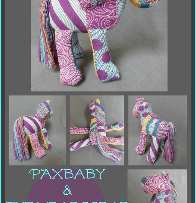 The Wrap Scrap Pony custom order at PAXbaby.com!