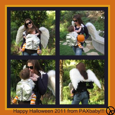 Happy {babywearing} Halloween 2011