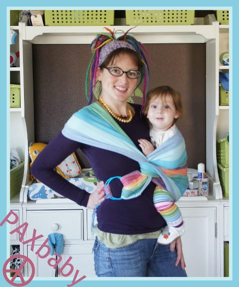 XL Ring Sling Poppins Carry