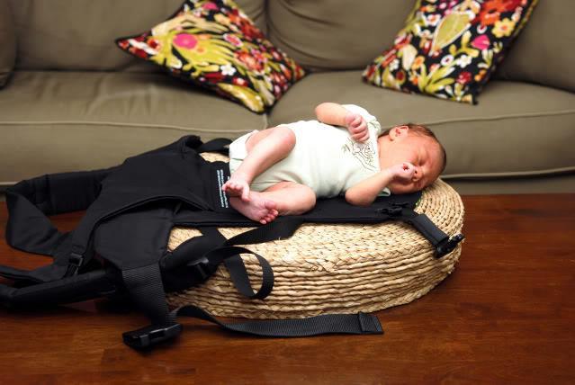 Easy Peasy Newborn Beco Wearing