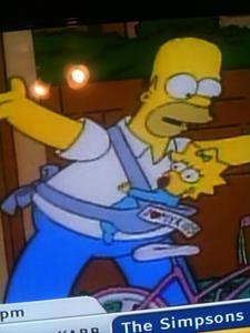 Babywearing on TV…