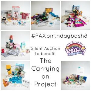 PAXbaby's Silent Auction for The Carrying On Project